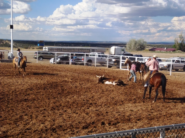 San Juan Ranch Roping- Monticello, UT
