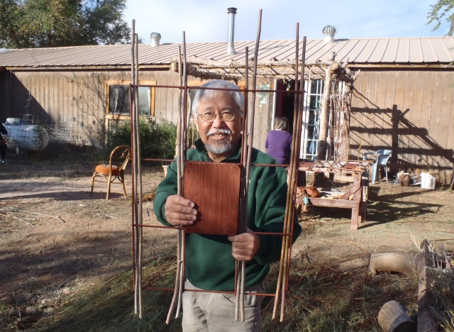 Willow Weaving Workshop- Bluff Arts Festival 2014